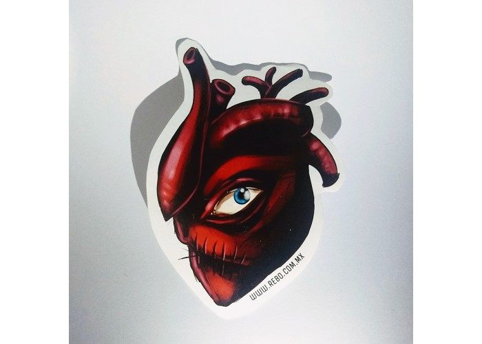 stickers monsters heart