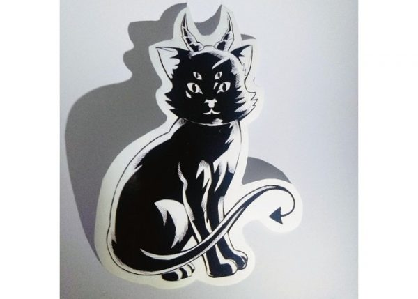 stickers monsters cat