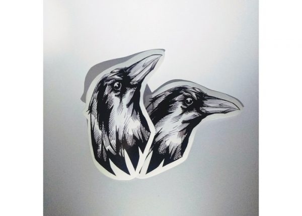 stickers monsters raven